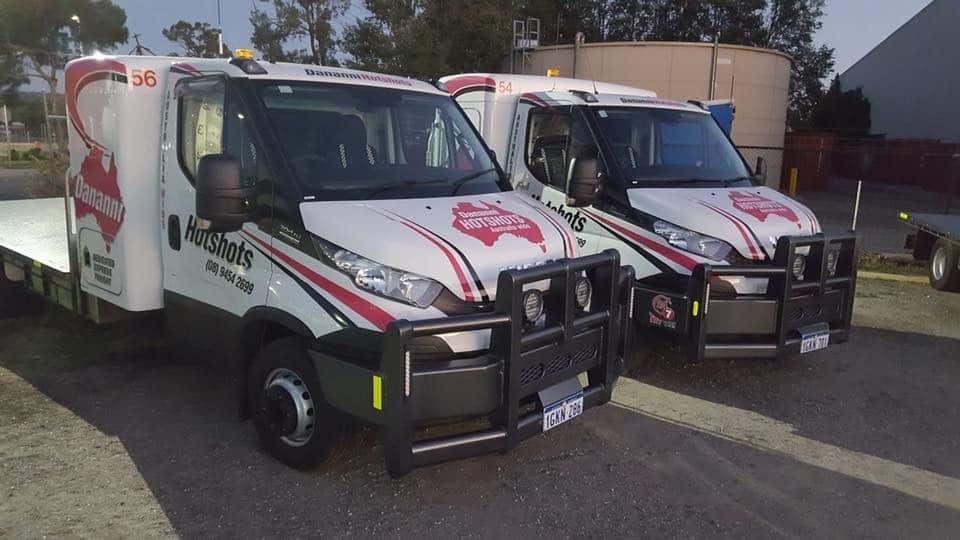 Dananni Hotshots 3-tonne trucks