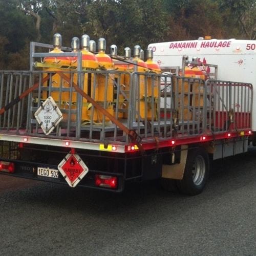 Dananni Hotshots: Dangerous goods truck