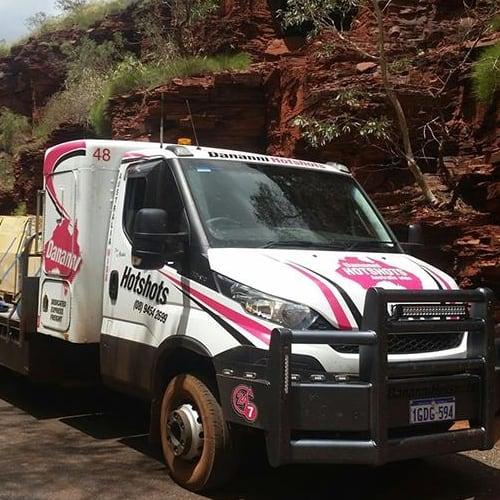 Dananni Hotshots: Freight services 24/7 truck