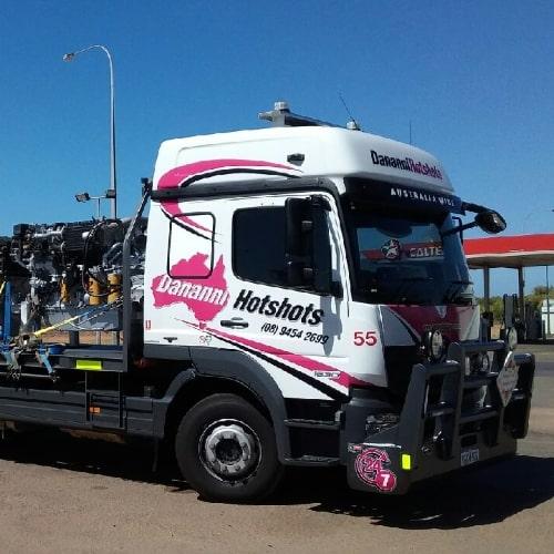 Dananni Hotshots: Hotshots Australia-wide Truck