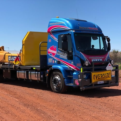 Dananni Hotshots: Over-dimensional truck